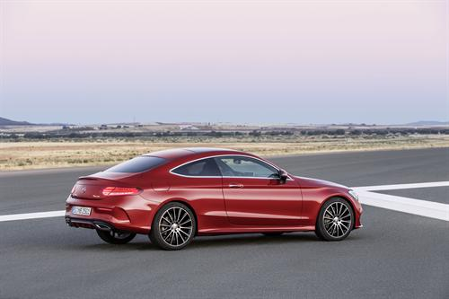 ... C63 Coupe is expected to outsell the saloon and estate variants ...
