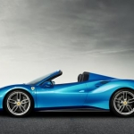 New Ferrari 488 spider side