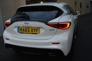 Infinity Q30 rear