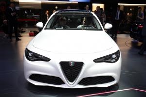 Alfa Romeo Giulia front