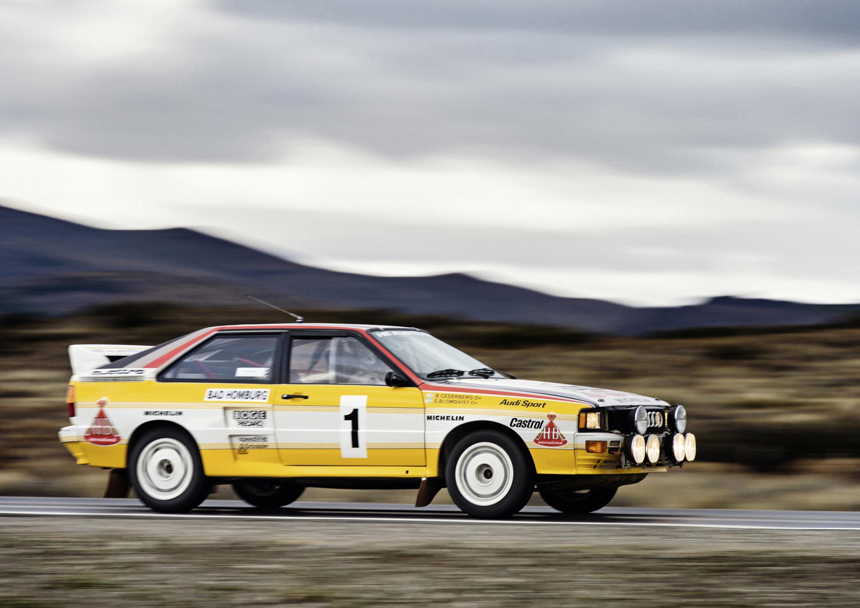 Audi Ur Quattro rally