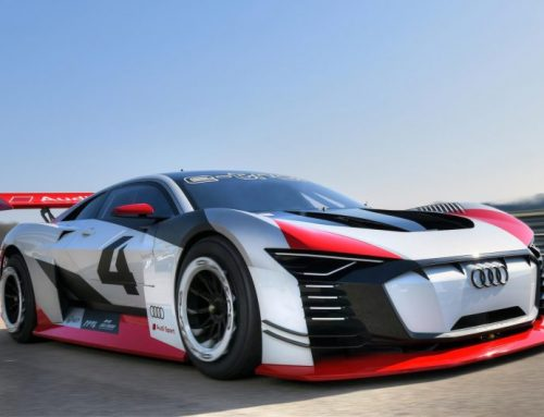 FROM THE PLAYSTATION TO RACE TAXI. THE AUDI E-TRON VISION GRAN TURISMO CONCEPT CAR. New car news.