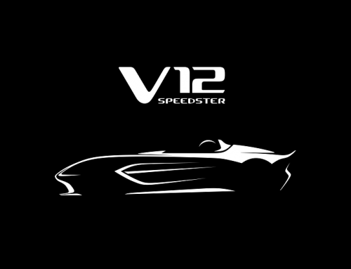 A NEW LIMITED EDITION ASTON MARTIN V12 SPEEDSTER. New car news.