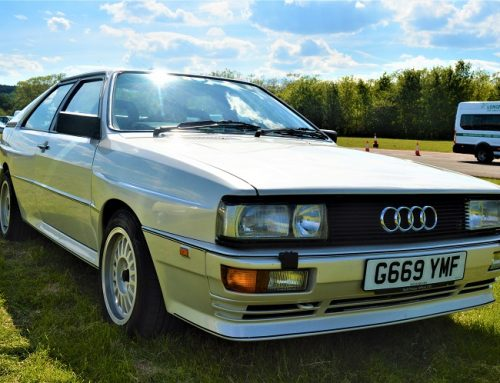 DRIVING ONE OF MY CHILDHOOD HERO CARS. THE AUDI UR QUATTRO. Car news.