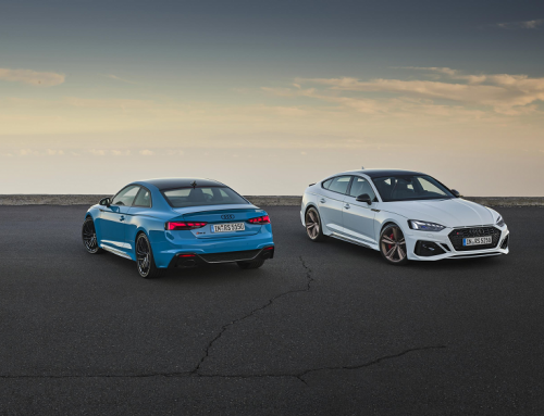 UPDATED AUDI RS5 COUPE AND RS5 SPORTBACK. New car news.