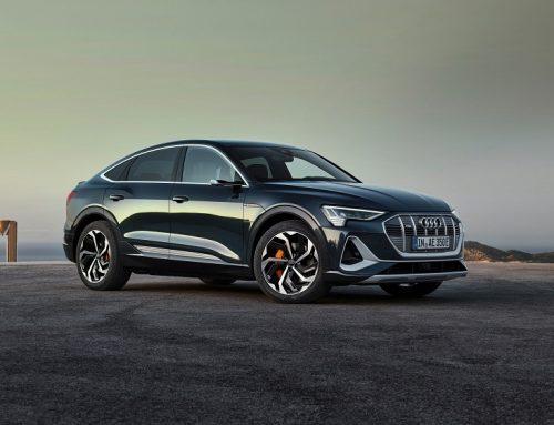 THE NEW AUDI E-TRON SPORTBACK. New car news.