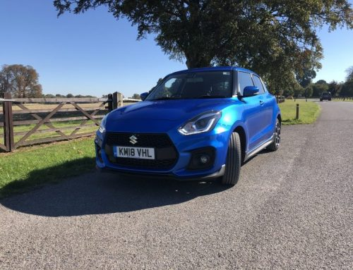 SUZUKI SWIFT SPORT 2018. Short blog review.
