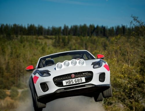 RALLY SPEC JAGUAR F-TYPE CONVERTIBLES. New car news.