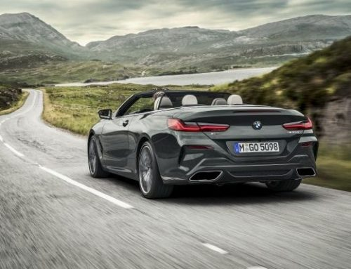 THE NEW BMW 8 SERIES CONVERTIBLE. New car news.