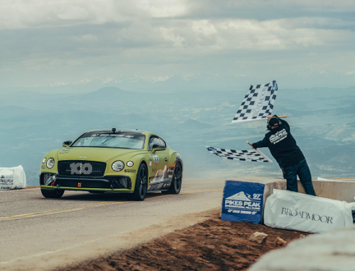 BENTLEY CONTINENTAL GT SETS A NEW RECORD AT PIKES PEAK. New car news.