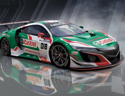 CASTROL HONDA IS BACK. New car news.