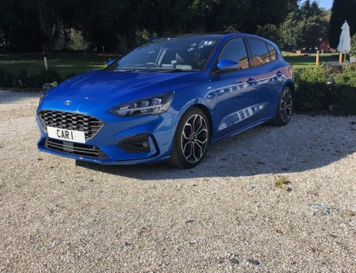 NEW FORD FOCUS ST-LINE X. Short blog review.