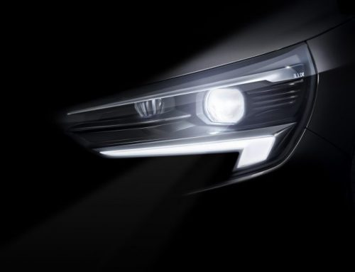 TEASER PICTURE OF THE NEW VAUXHALL CORSA HEADLIGHT. New car news