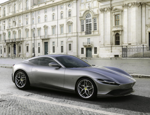 PICTURES OF THE NEW FERRARI ROMA. New car news.