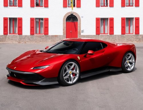 THE FERRARI SP38. New car news.