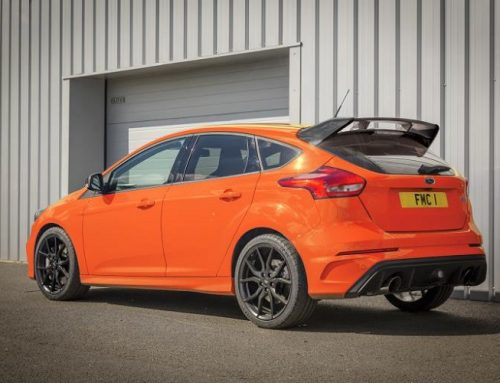 THE NEW FORD FOCUS RS HERITAGE EDITION. THE LAST OF THE LINE. New car news blog.