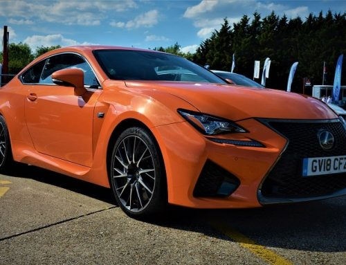 NEW LEXUS RC F COUPE. New car blog review.