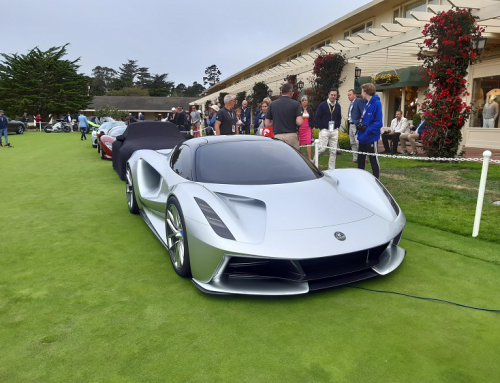 LOTUS EVIJA MAKES ITS PUBLIC DEBUT. New car news.