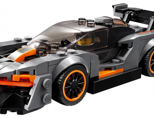 NEW MCLAREN SENNA LEGO CAR. New car news.
