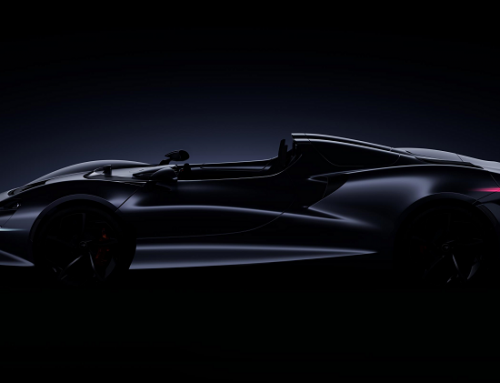MCLAREN NEW ULTIMATE SERIES ROADSTER. New car news.