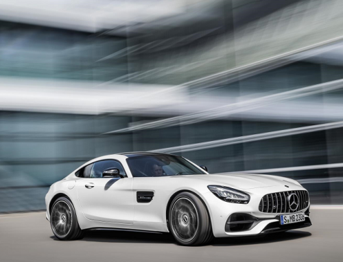 UPDATED MERCEDES AMG GT. New car news.