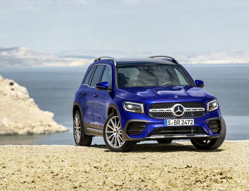 MERCEDES-BENZ NEW COMPACT SUV THE GLB. New car news.