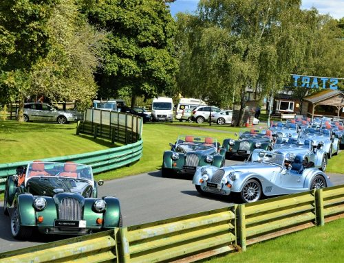 MORGAN MOTOR COMPANY THILL ON THE HILL EVENT.