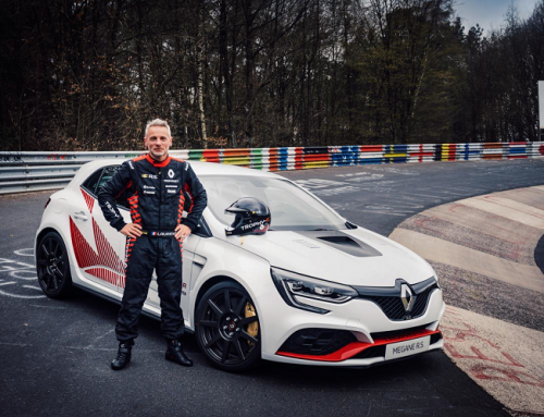 MEGANE R.S. TROPHY-R SETS NEW LAP RECORD AROUND THE NORDSCHLEIFE. New car news.