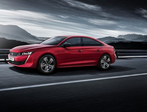 THE NEW PEUGEOT 508. New car news blog.