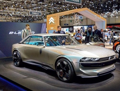 PEUGEOT E-LEGEND CONCEPT CAR AT THE CLASSIC MOTOR SHOW, with DISCOVERY.