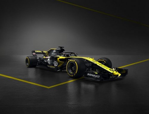 RENAULT F1 TEAM LAUNCHES 2018 NEW F1 CAR.