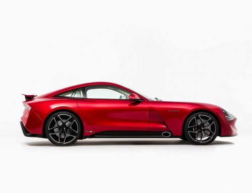 THE NEW TVR GRIFFITH WILL BE AT THE LONDON MOTOR SHOW 2018.