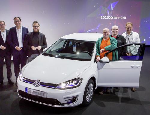 100,000th VOLKSWAGEN e-GOLF MILESTONE. New car news.