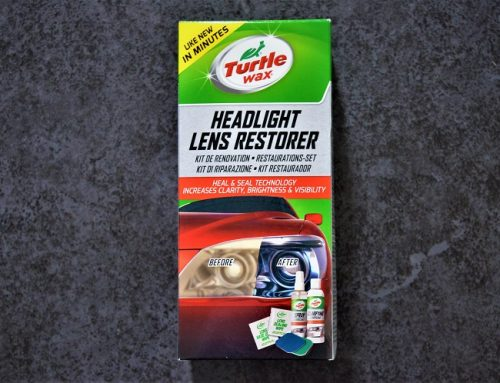 TURTLE WAX HEADLIGHT LENS RESTORER KIT. Blog review.