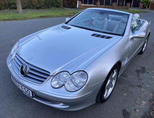 DO YOU FANCY A USED 2003 MERCEDES-BENZ SL500? Auction used car watch.