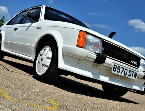 DRIVING A MK1 VAUXHALL ASTRA GTE.