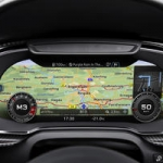 Audi R8 Instrument display changable
