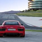 Audi R8 V10 Plus Rear