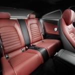 Mercedes Benz C-Class Coupe Seats