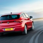 The New Vauxhall Astra Rear