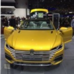 We Blog Any Car VW Sports Coupe Concept Geneva Front End