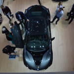 BMW I8 From above