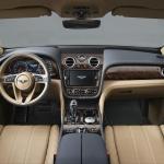 Bentley Bentayga dash