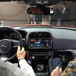 Jaguar F-Pace dash