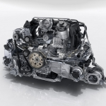 New Porscche 911 engine