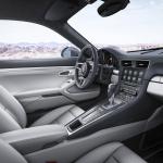 New Porsche 911 inside