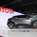 Toyota C-HR Concept side