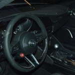 Alfa Romeo Giulia inside