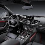 Audi RS6 Avant dashboard