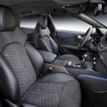 Audi RS7 front seats